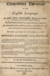 """Noah Webster is considered one of our """"forgotten founding fathers."""" Because definitions are what we're missing in politics. (Image source: https://www.vocabulary.com/articles/dogeared/the-birth-of-websters-dictionary/)"""